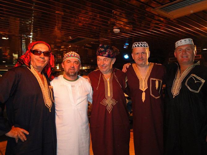 Imprezator dj na imprezie w stylu arabskim w Koszalinie