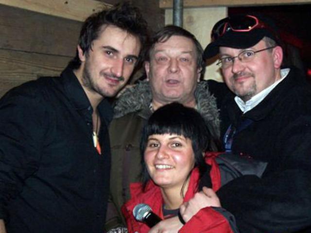 Dj Imprezator z wokalistą Zakopower