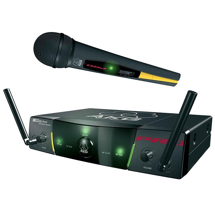 Zestaw bezprzewodowy z mikrofonem dla Konferansjera - AKG WMS 40 ProVocal